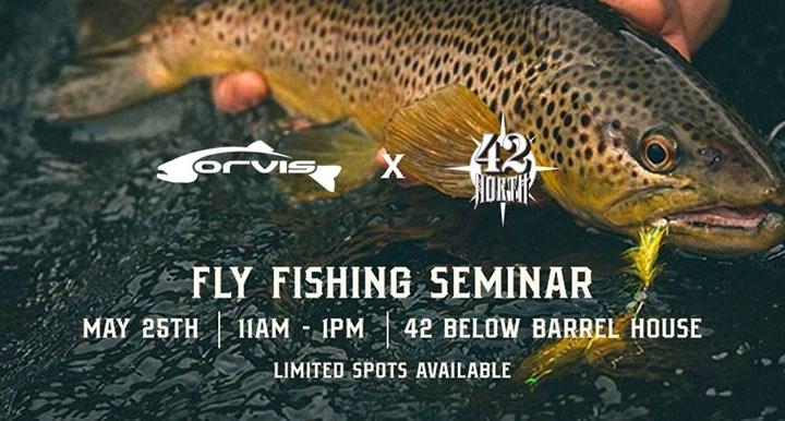 Orvis Buffalo Fly Fishing 101 Seminar at 42 North Brewing