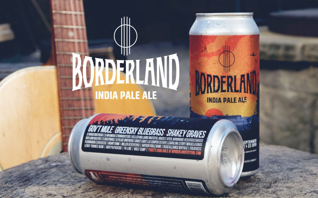Borderland Festival X 42 North Brewing Limited Can