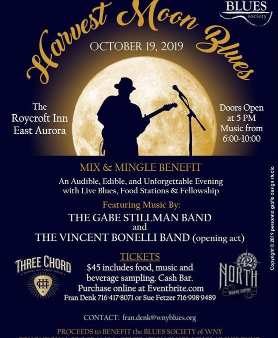 Harvest Moon Blues – A Mix & Mingle Benefiting Blues Education
