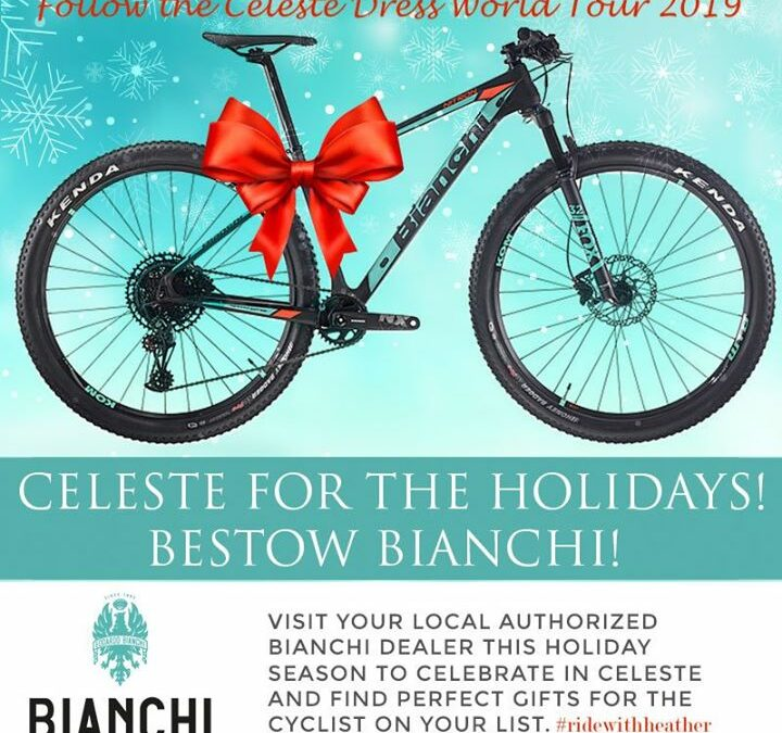 Bianchi Chain Ring Rhythm 42 North Brewing Celeste Holiday Party