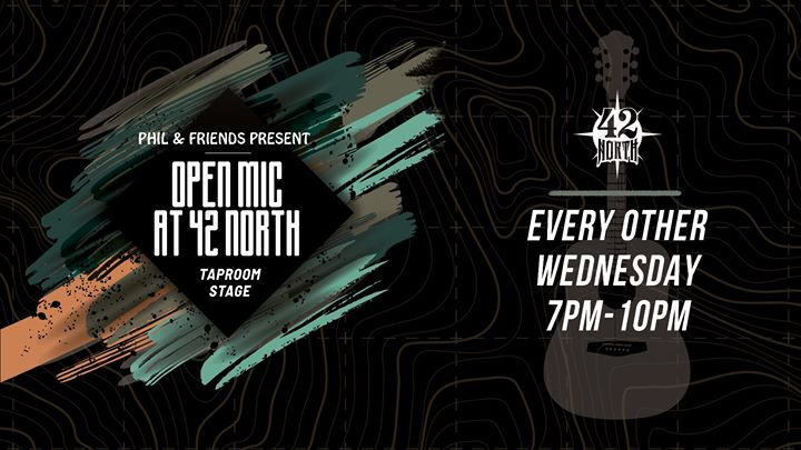Open Mic Nights – Every Other Wednesday