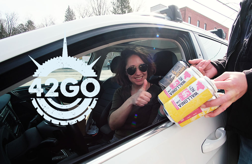 42GO: A Beer Drive-Thru While We Ride Out The Storm