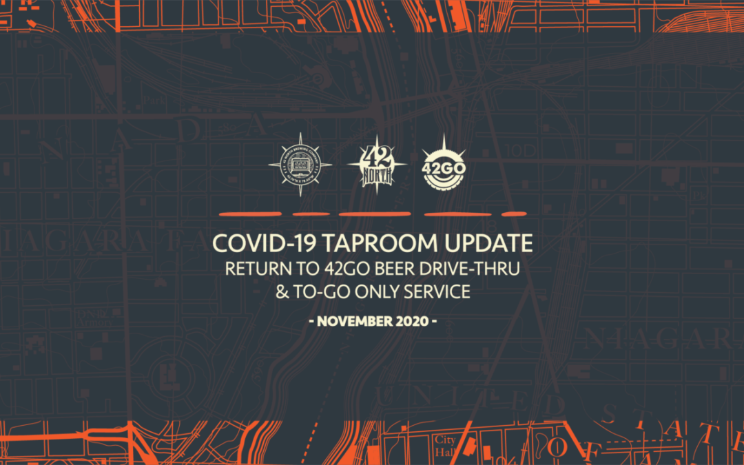 COVID-19 Taproom Update – NOV 2020