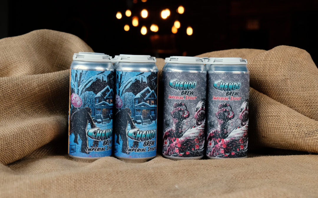 Chenoo Brew Collaboration With Comic Book Legend Graham Nolan